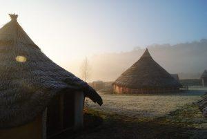 Butser Ancient Farm Round Houses